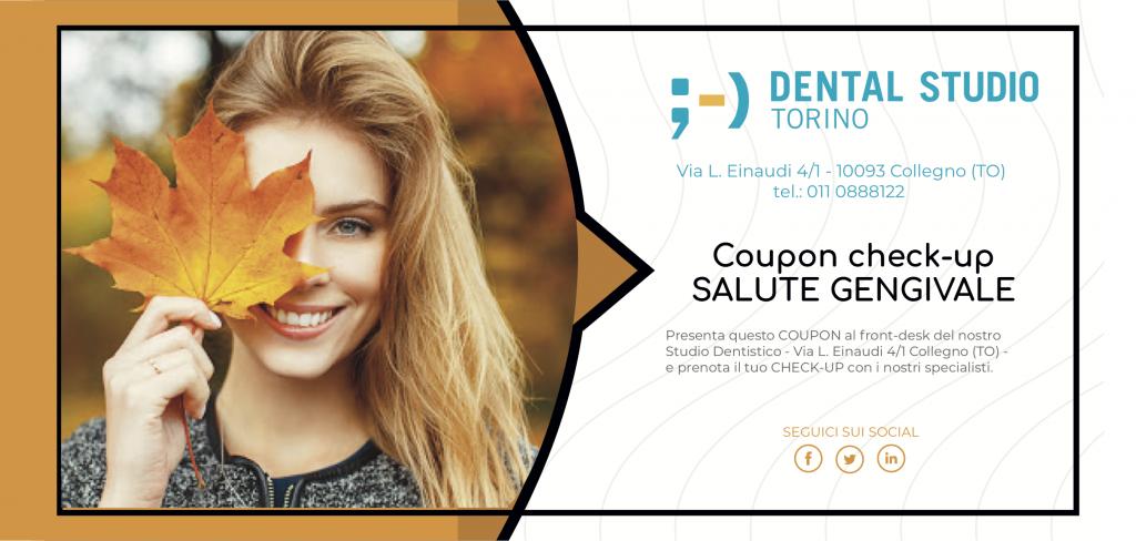 Come riconoscere la parodontite? Fai il test, scarica l'Ebook con i nostri consigli e presenta il COUPON per un check-up completo